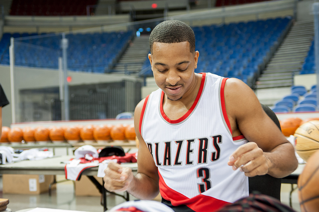 Trail Blazers Media Day