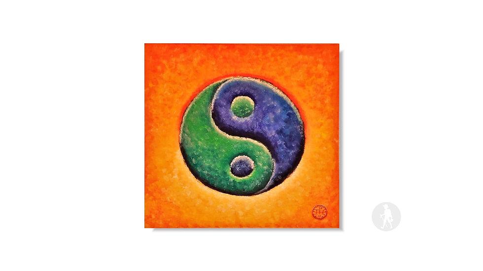 """""""Yin und Yang"""" (Acryl auf Leinwand)   250,00 €"""