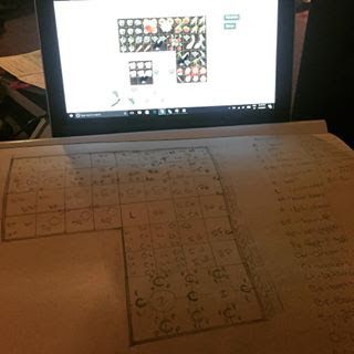 Late night planning