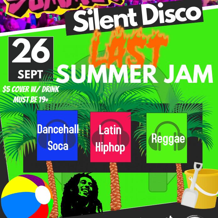 Summit Silent Disco - Last Summer Jam