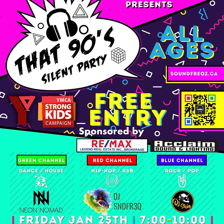 That 90's Silent Party