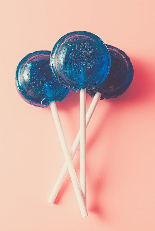 Blueberry Lollies