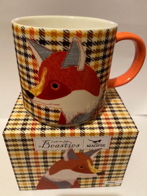 Magpie Beasties FOX Mug