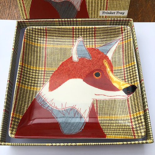 Magpie Beasties FOX Trinket Tray