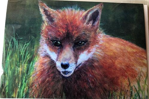 Greeting Card - Fox