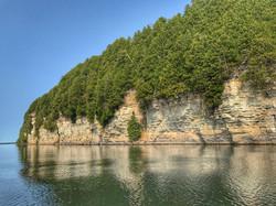 Red Rock, Lake Kagawong