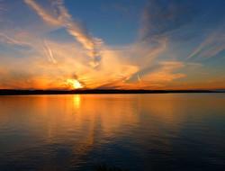 Lake Manitou sunset