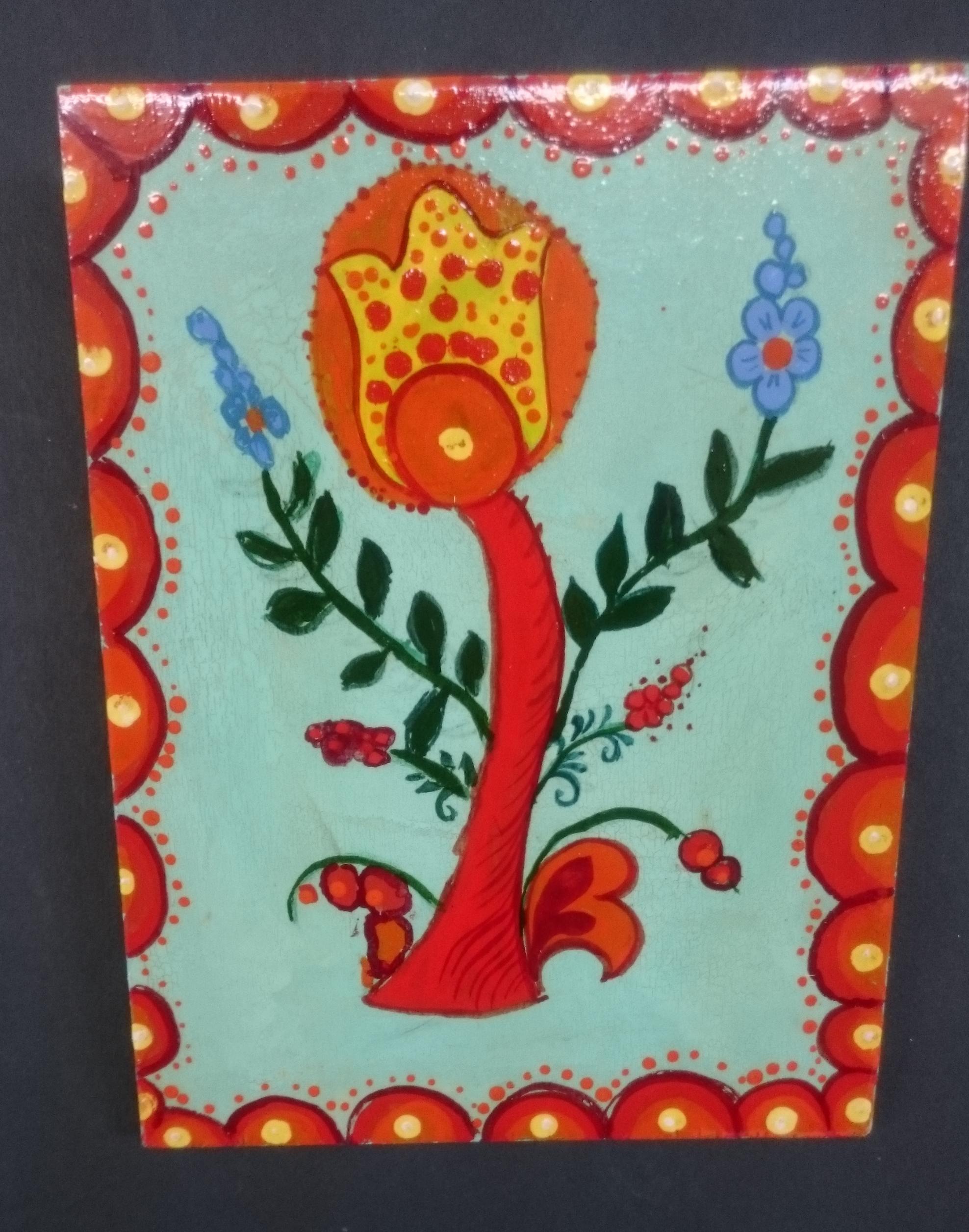 Дарья К., 1 класс, Роспись по дереву