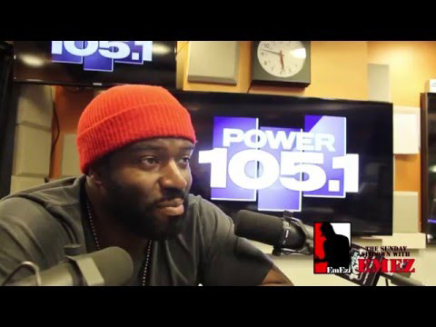 Power 105.1 Sunday Sitdown interview