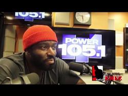 Power 105.1 Sunday Sitdown interview