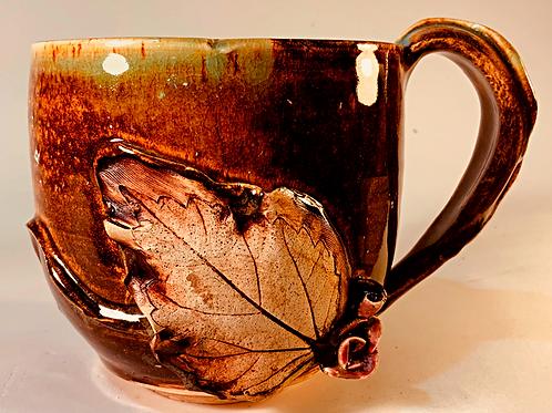 Last Leaf of Fall Mug