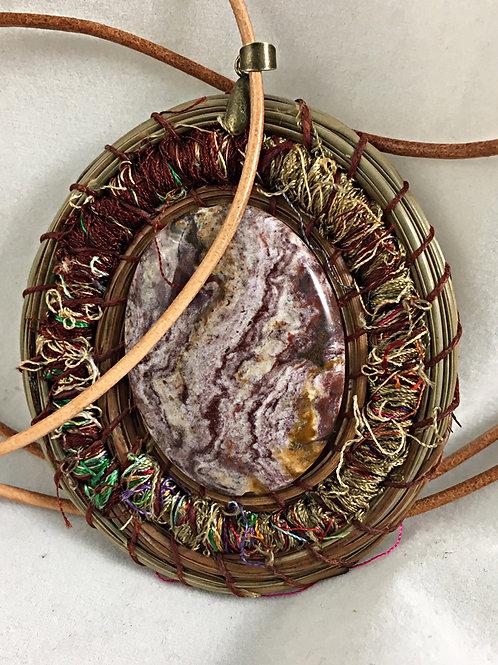 Pine Needle Necklace #3760