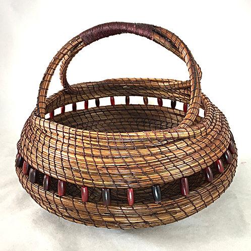 Pine Needle Basket #4407