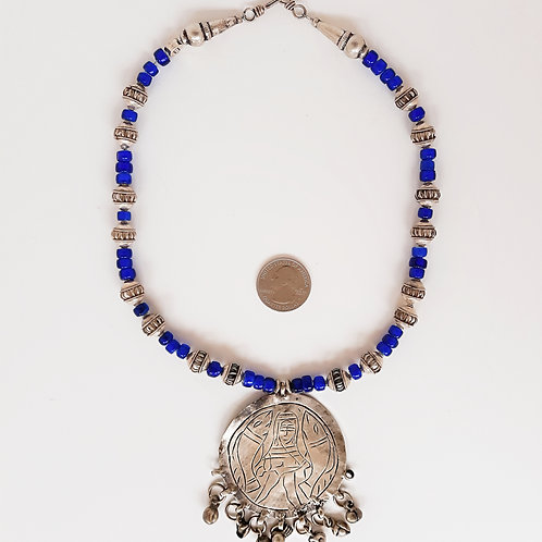 Contemporary Egyptian design necklace