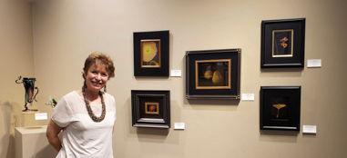 Abbey Chamberlain at Fallbrook Art Cente