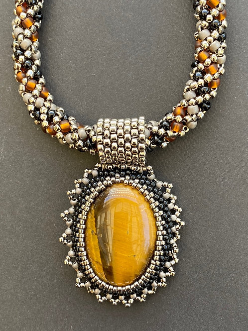 Tiger eye necklace