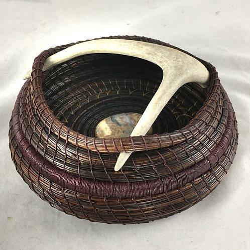 Pine Needle Basket #4408