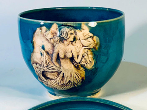 Blue C Mermaid Bowl