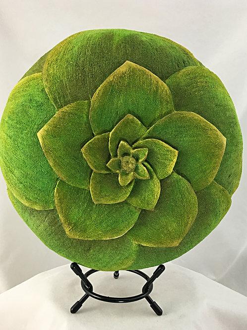 Succulent Themed Gourd Art