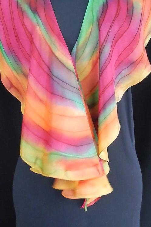 Spiral Silk Scarf # 1