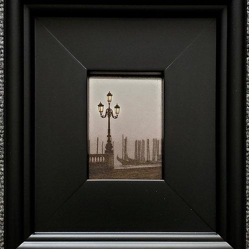 Gilded Light- Venetian Lamppost
