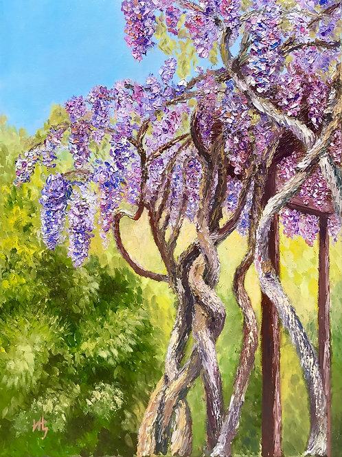 Wisteria Garden Plein Air
