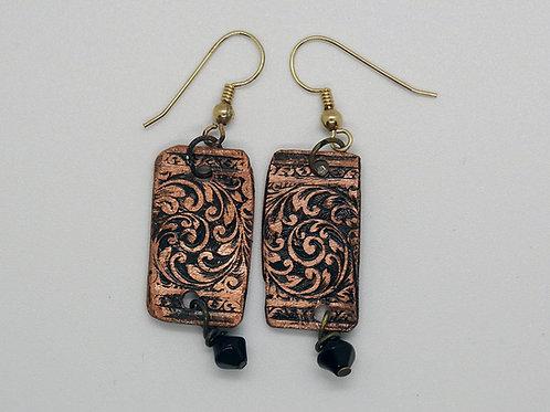 Baroque Scroll earrings
