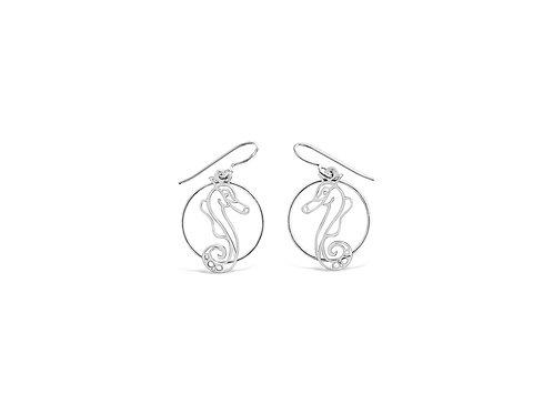 H20 mini with hoop earrings