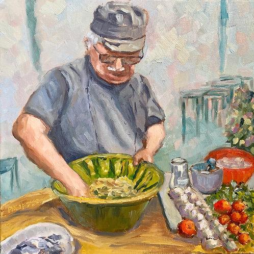 Sicilian Couscous Maker