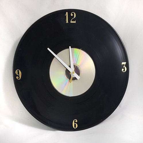 Old Record Clock #1
