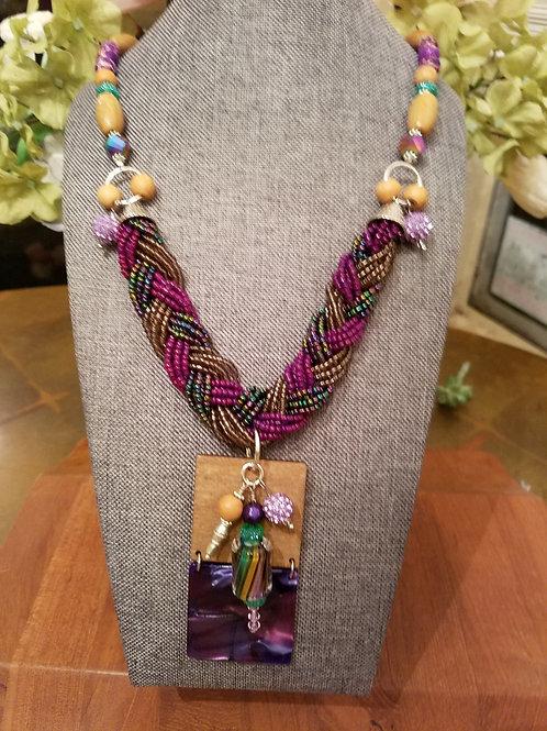'Purple Radiance' Necklace