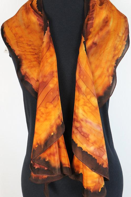 Spiral Silk Scarf # 3