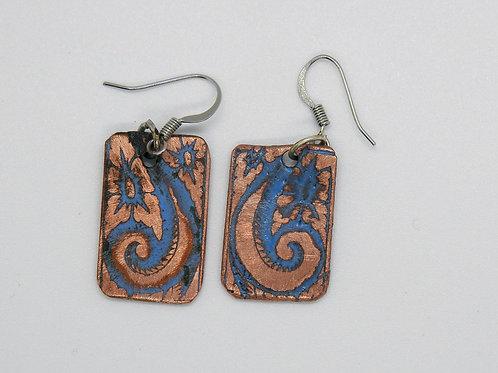 Wave Curl earrings