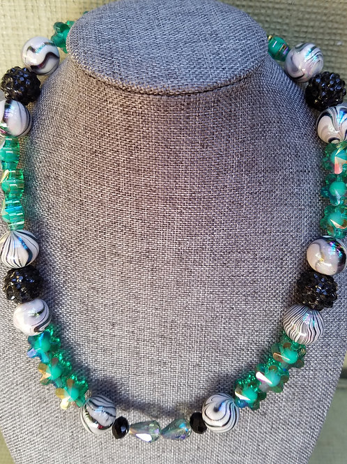'Green Splendor' Necklace