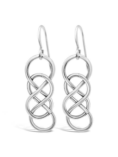 Double Knot jumbo earrings