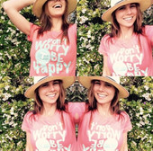 #wearhappiness in an exclusive t-shirt