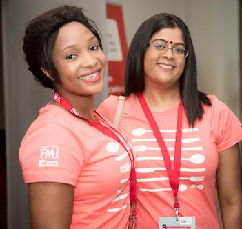 FMI Bidvest conference delegates in their co-branded bonhappi-Ts