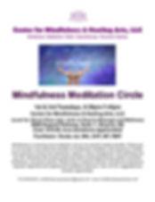FLYER-Mindfulness Meditation-1st-3rd Tue