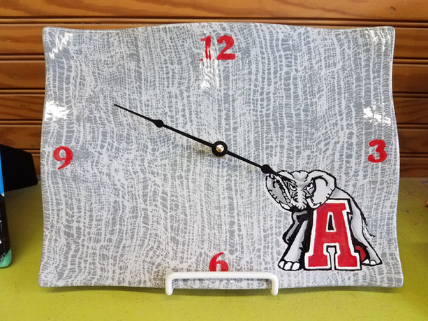 Make any piece a clock for $15!