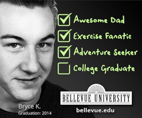 Bellevue University Banner Ad