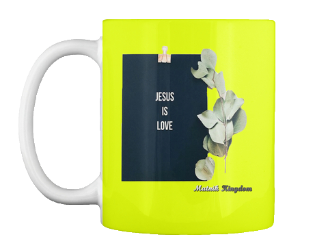 Jesus Is Love - Mug (15€)