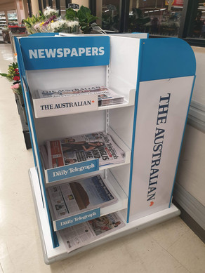 News Cube in Coles