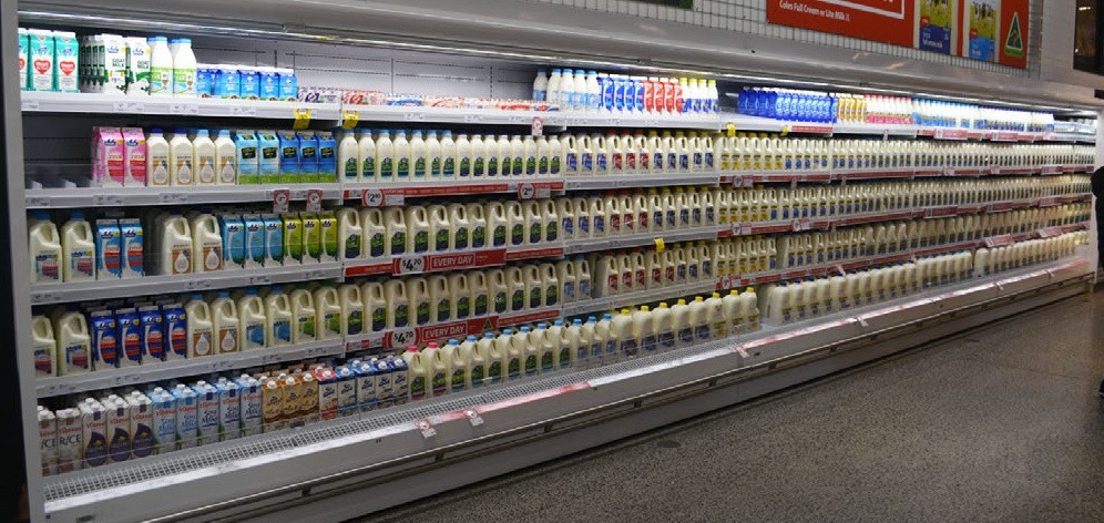 Milk and Dairy Fridge