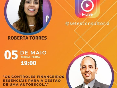 Live com Roberta Torres - Controles Básicos Financeiros