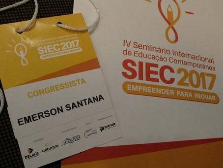 IV Seminário Internacional de Educação Contemporânea - SIEC 2017