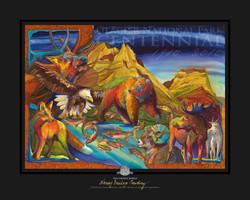Glacier Park Centennial Poster