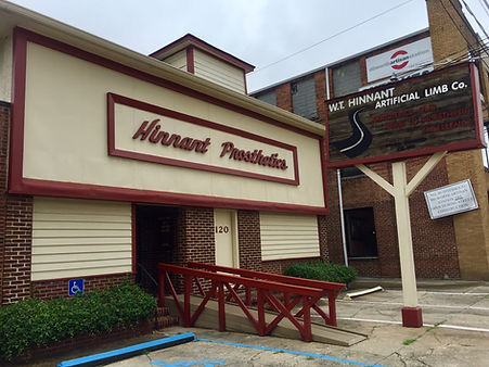 WT Hinnant main office