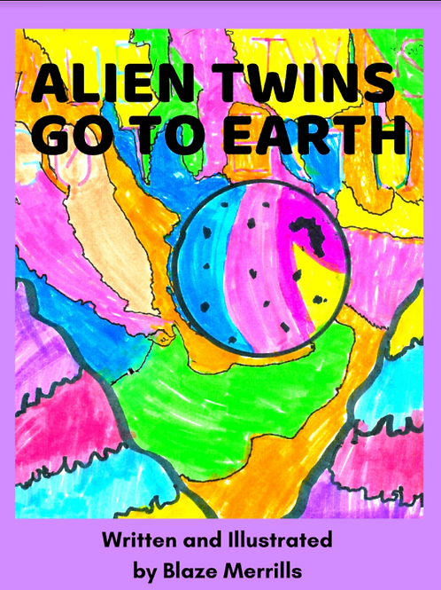 Alien Twins Go To Earth