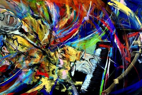 "OBRA ORIGINAL JAZZ BY XICOFRAN ""EALL HINES"""