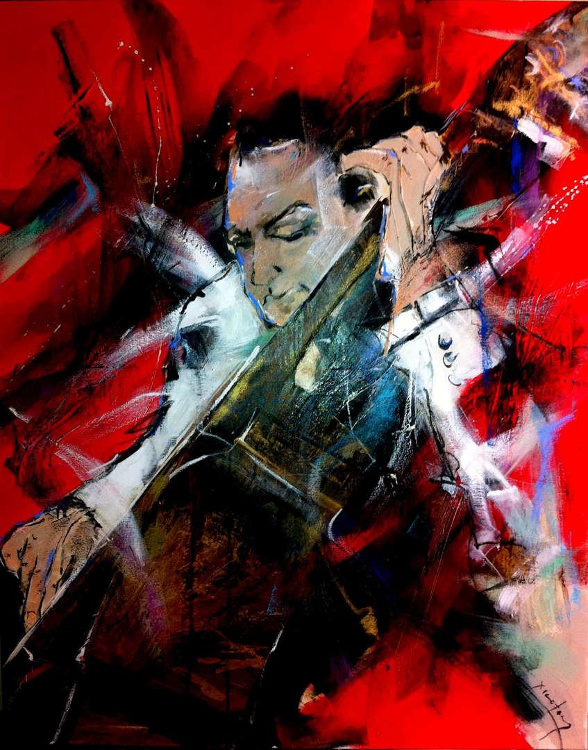 please silence, is jazz-90x80cm-2012.jpg
